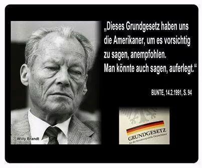 Alt Bundeskanzler Willy Brandt